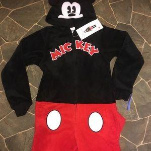 Disney Ladies Mickey pajamas cosplay onesie XS-S/M